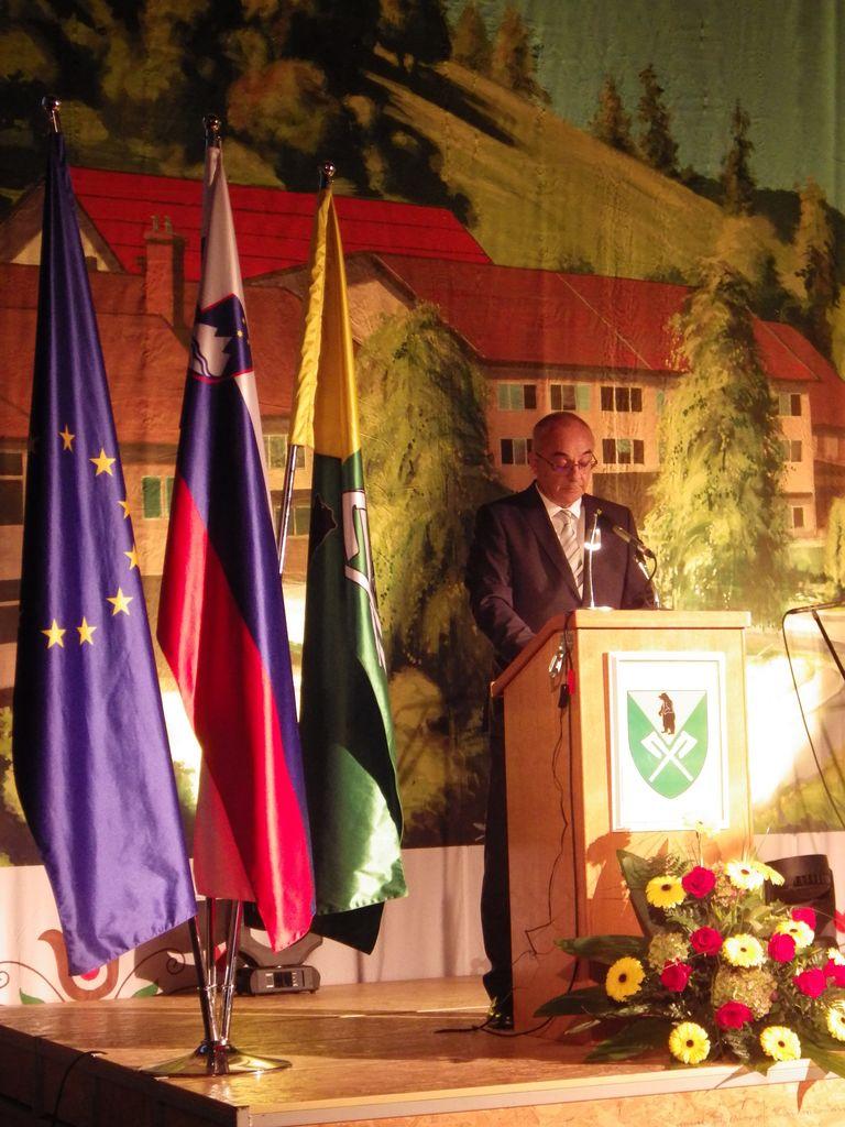 Govor župana Ivana Benčine