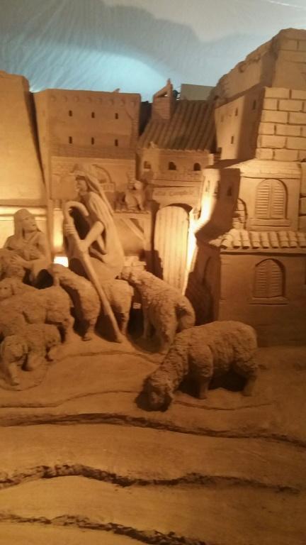 Advent in peščene jaslice v Furlaniji