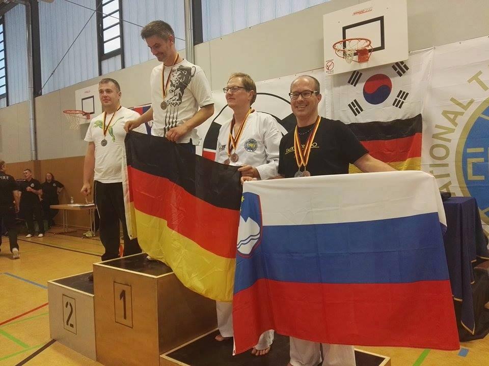 Ekipa TKD Radovljica se je vrnila iz Nemčije!