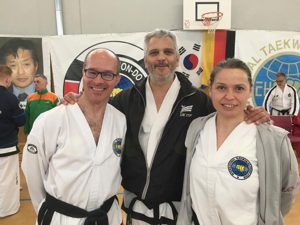 Master Class, elitno taekwon-do izobraževanje v Nemčiji
