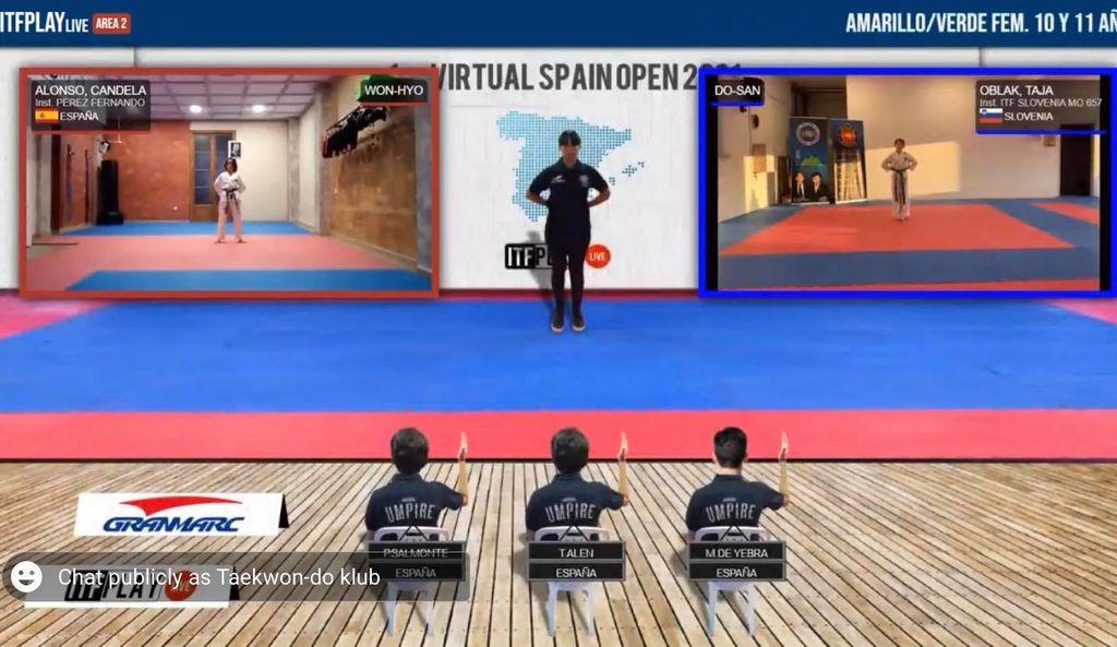 Odlični rezultati na 1st Virtual Spain Open 2021