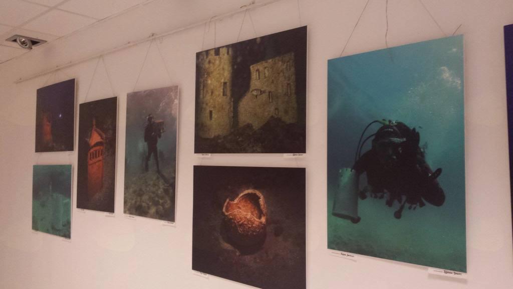 Otvoritev razstave Društva POC: Castra na morskem dnu