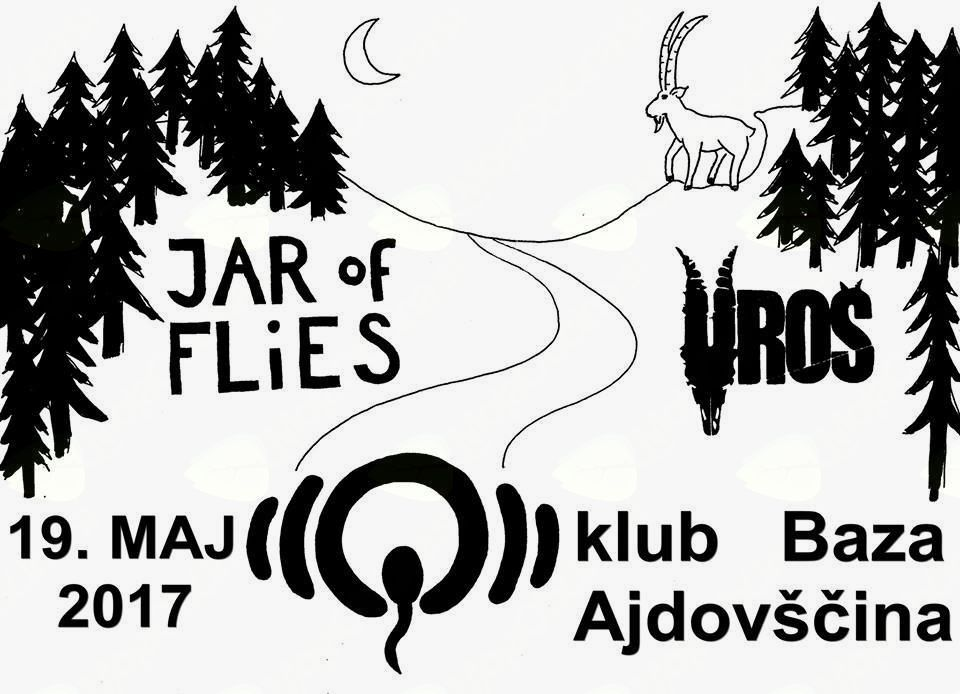 Koncert: Uroš + Jar of flies (SLO)