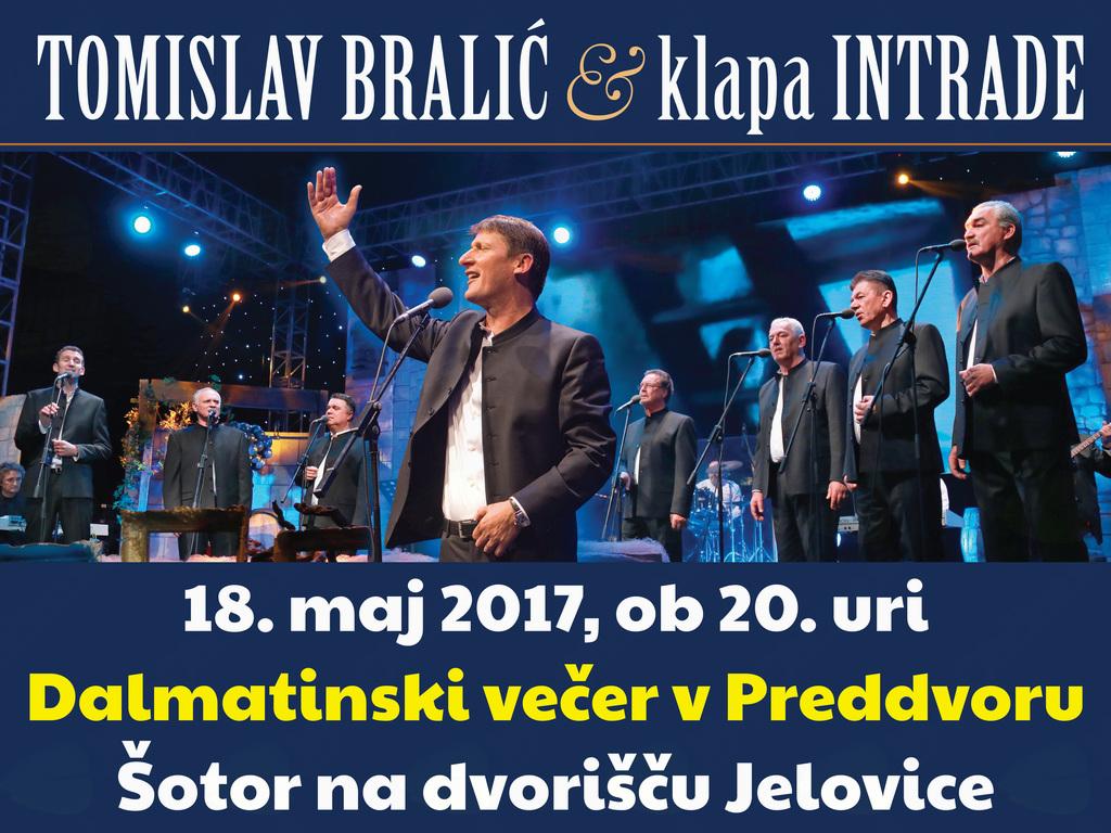 Dalmatinski večer na Vikendu zabave - Preddvor 2017