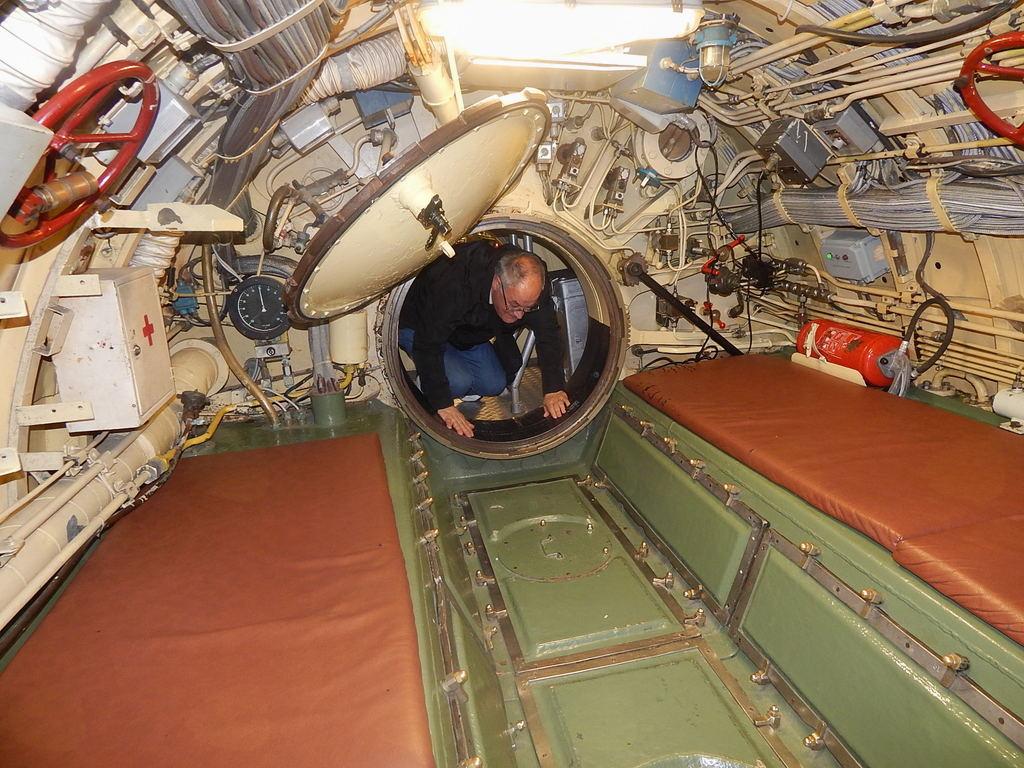Vstop v podmornico