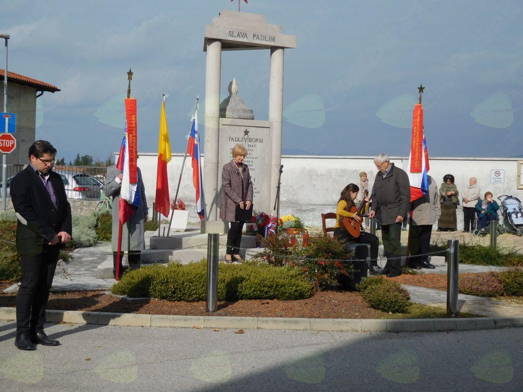 Komemoracija v Mirnu in Orehovljah