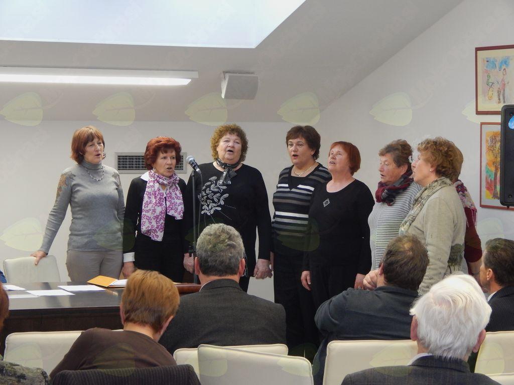 Letni občni zbor Društva upokojencev Miren