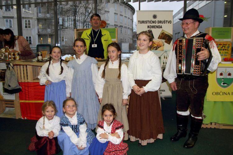 Območno srečanje otroških folklornih skupin