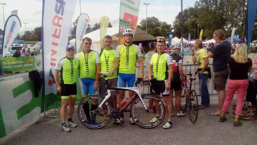 Ekoregija Ravno polje – 24-urno kolesarjenje Avstrija 2017