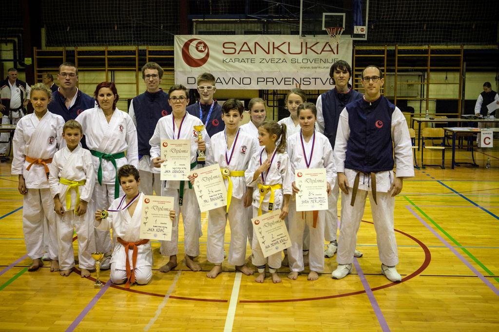 Novi državni prvak v Karate klubu Komenda