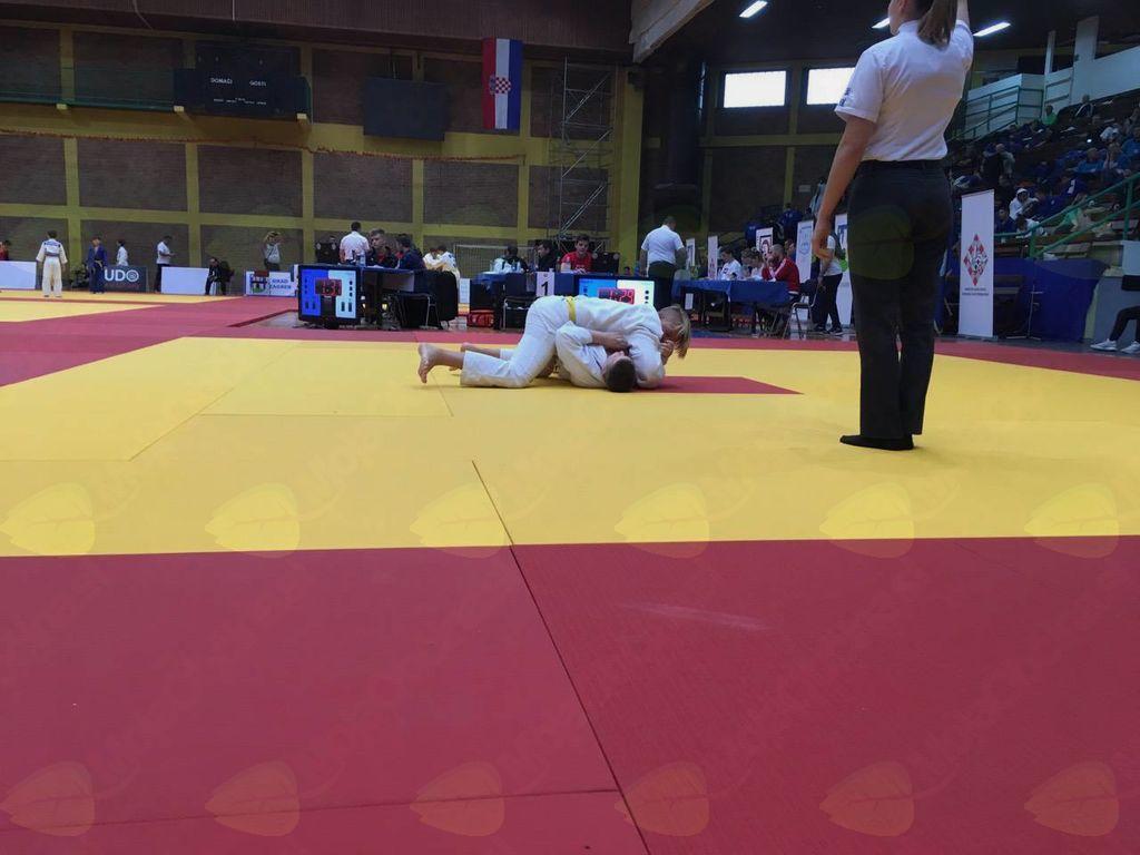Judo klub Komenda se iz Zagreba vrača z vrhunskimi rezultati