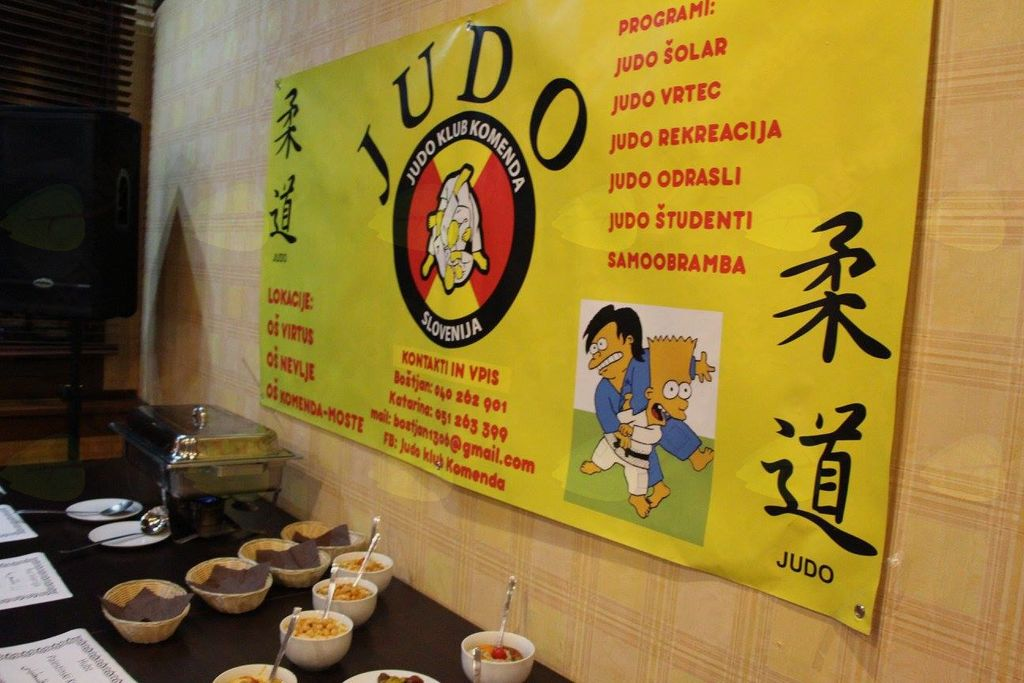 Zaključna prireditev Judo kluba Komenda