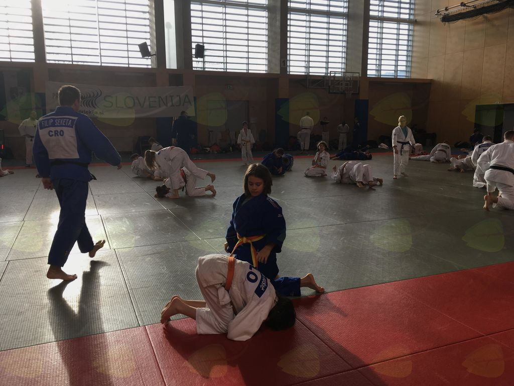 Prednovoletne priprave judoistov v Ljutomeru