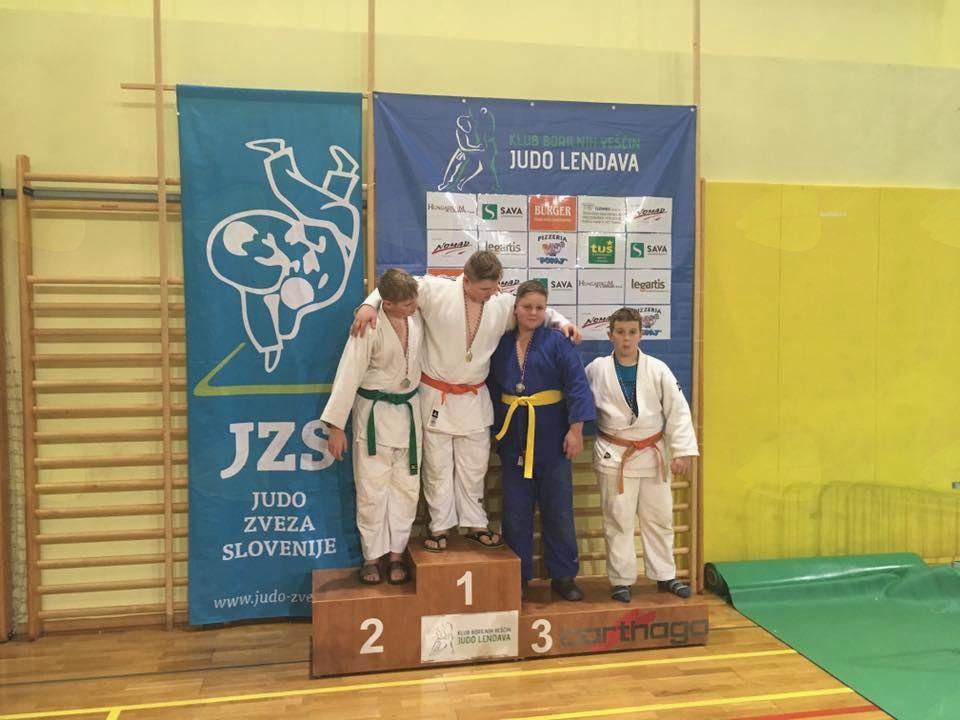 Komendčani znova blesteli na velikem judo tekmovanju