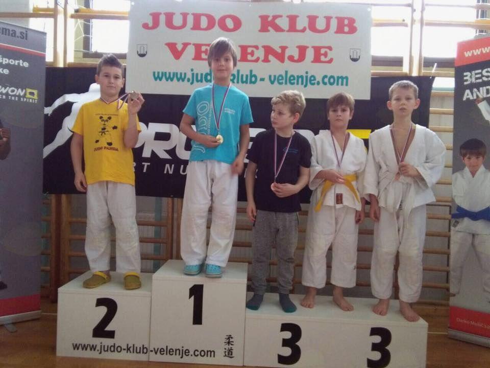 Judoisti osvojili ekipno 2. mesto na Pokalu Velenja