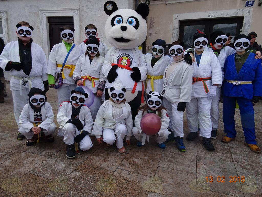 Judo pande na pustnem karnevalu