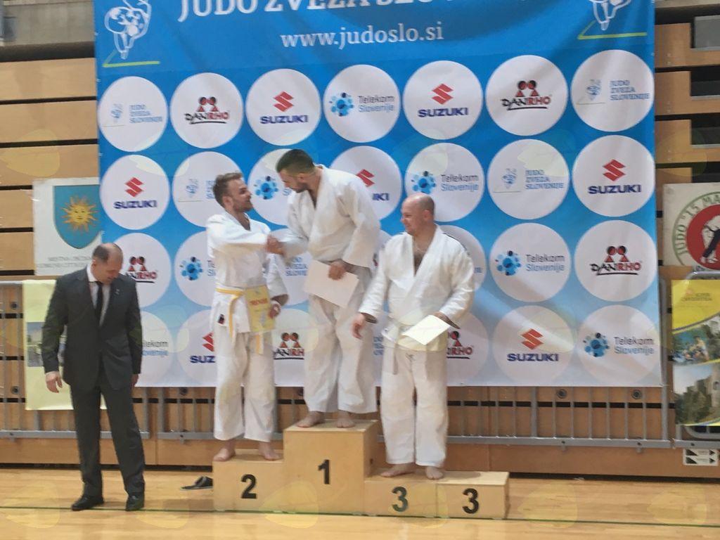 Pasovno državno prvenstvo v judu: 4 tekmovalci in 4 stopničke