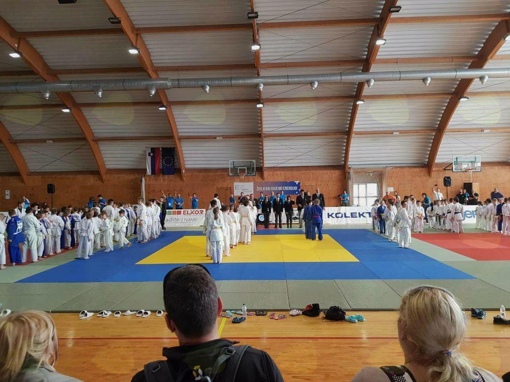 Judo klub Komenda ob 50. letnici JK Gorice, takoj za domačini