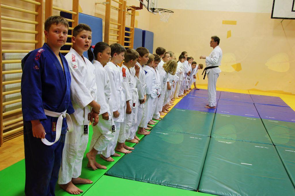 Judoisti s polaganjem pasov uspešno zaključili šolsko leto