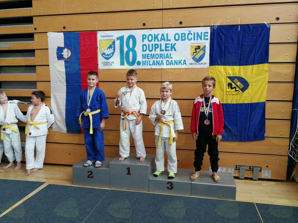 Judoisti JK Komenda osvojili 5 kolajn na Pokalu Dupleka