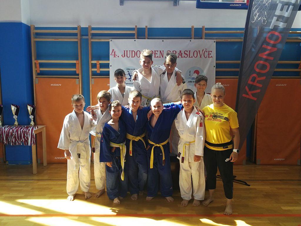 Judo klub Komenda na Mednarodnem turnirju v Braslovčah osvojil 11 odličij