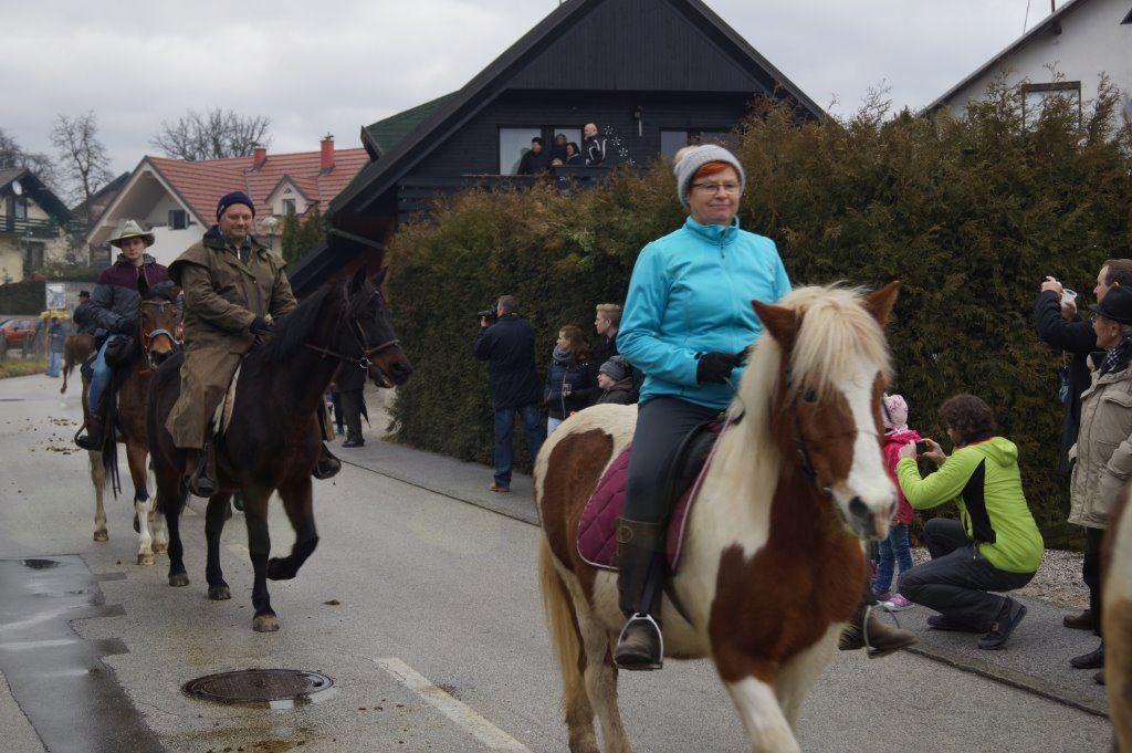 Šestindvajseta blagoslovitev konj na Križu