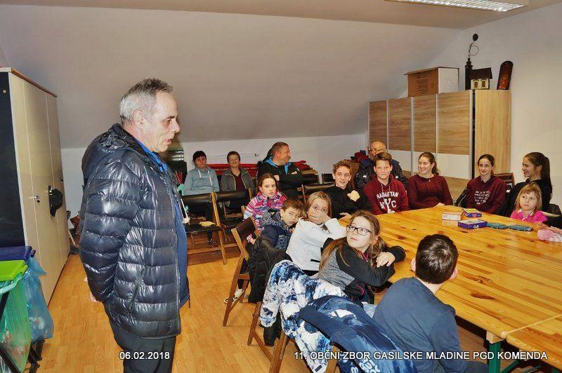 Nagovor Poveljnika PGD Komenda Stanislava Poglajna