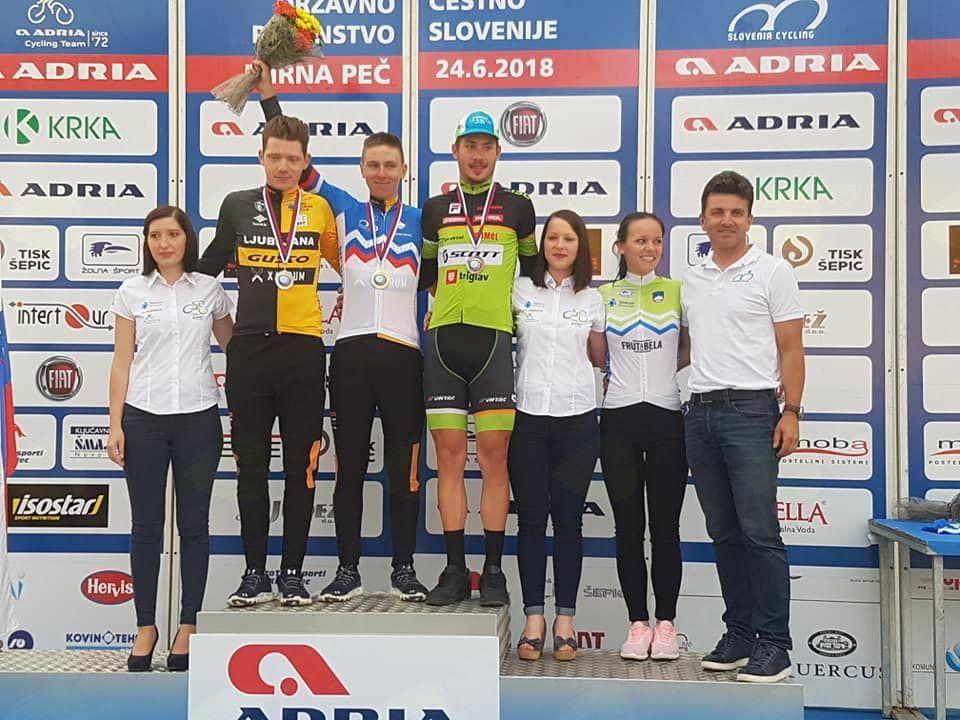 Tadej Pogačar državni prvak v kategoriji U23