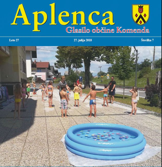 Aplenca – Glasilo občine Komenda 07/2018