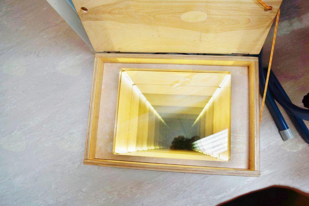 Hiška eksperimentov v šoli v Komendi