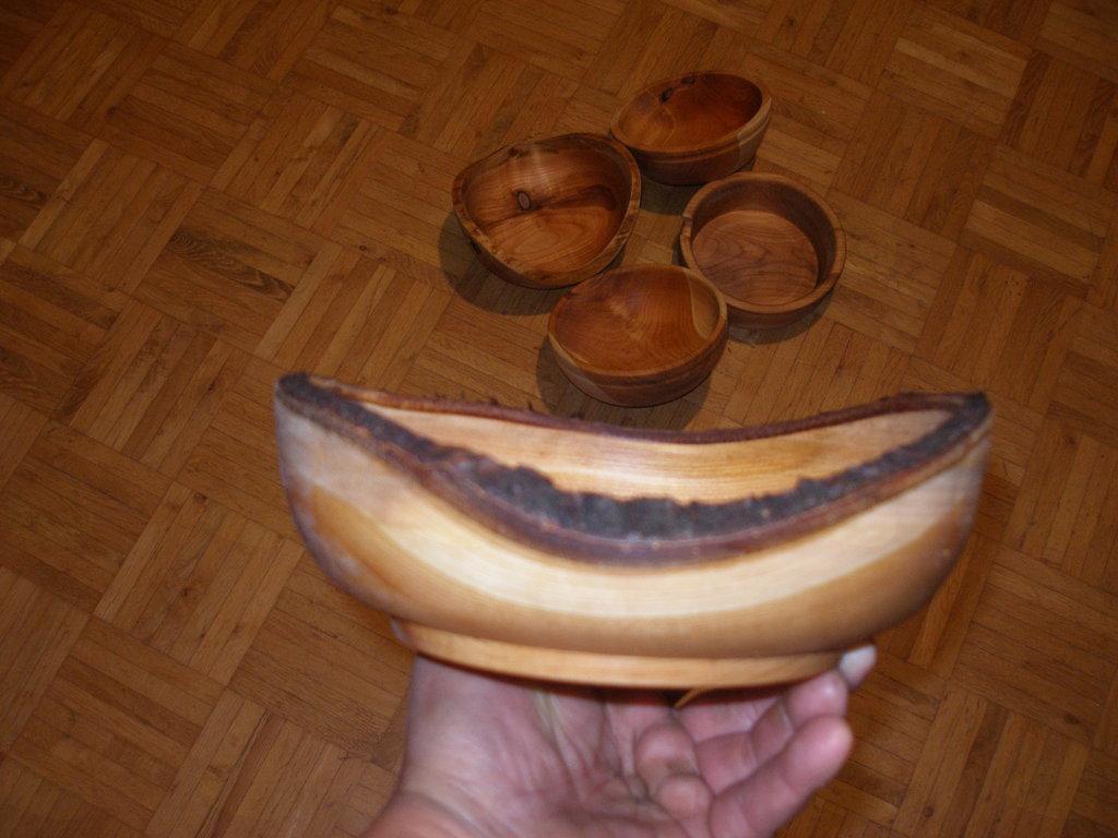 Lesena ali veganska skleda