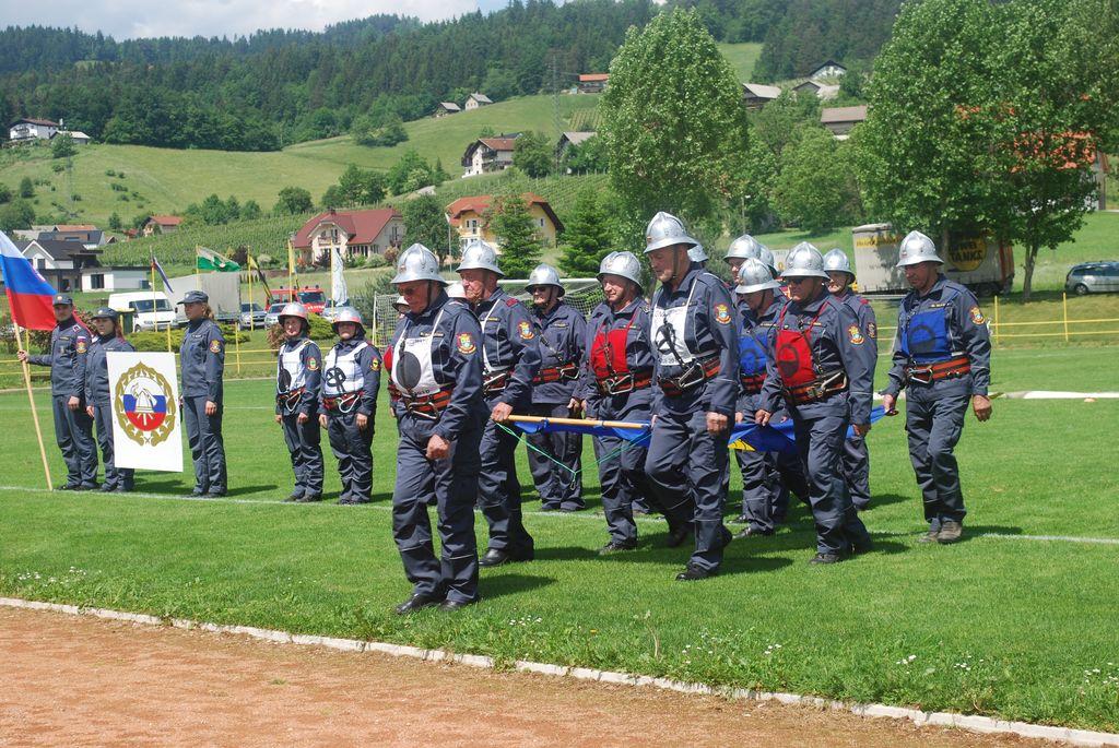 Tekmovanje starejših gasilk in gasilcev za Pokal Občine Oplotnica in Pokal GZS