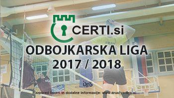 5. krog Certi.si odbojkarske lige 2017/2018
