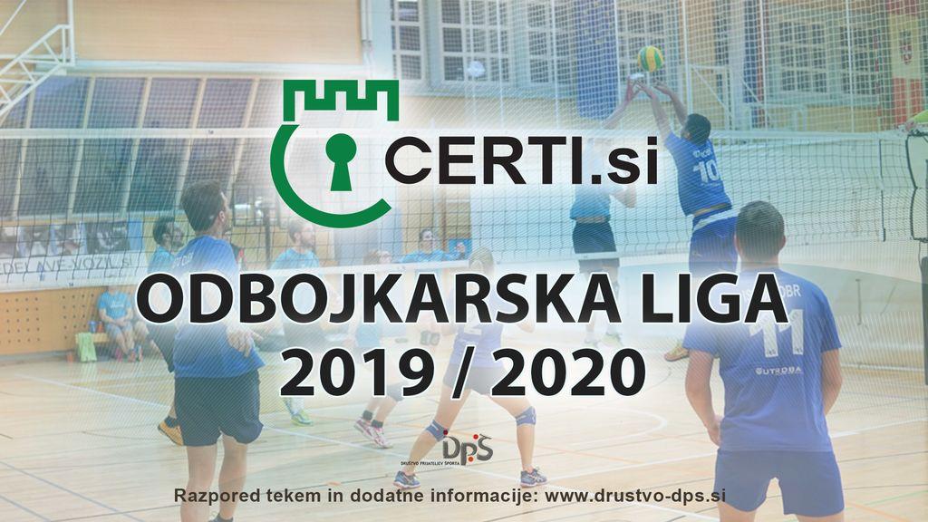 2. krog Certi.si odbojkarske lige 2019/2020