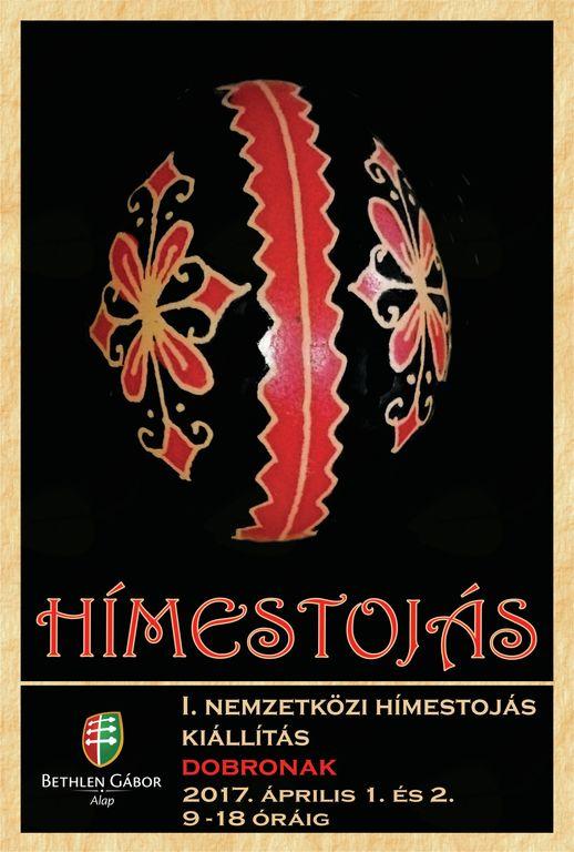 1.mednarodna razstava pisanic/1.nemzetközi hímestojás kiállítása