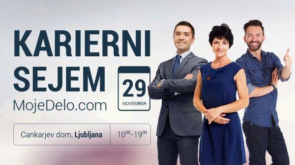 Karierni sejem MojeDelo.com 2017 – Ljubljana