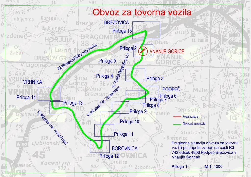 Popolna zapora železniškega prehoda v Vnanjih Goricah v petek, 9.11. in v soboto, 10.11.2018