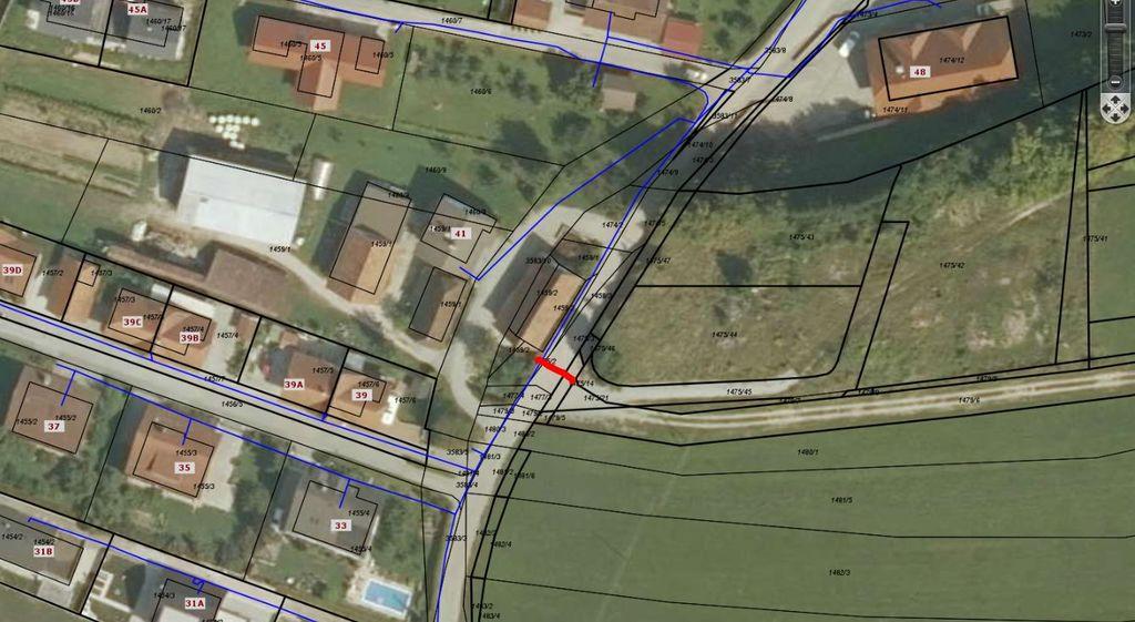 Popolna zapora ceste - Pod Goricami - Vnanje Gorice