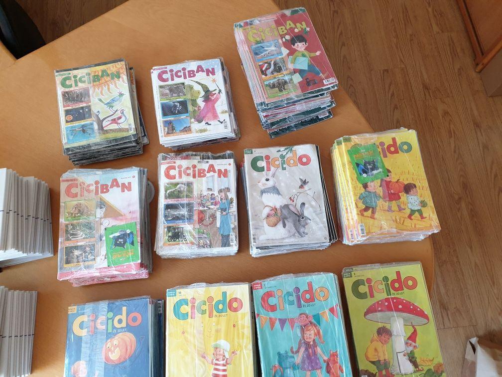 100 brezplačnih knjig za otroke Založbe Morfem in  80 brezplačnih Cicibanov in Cicidojev Mladinske knjige