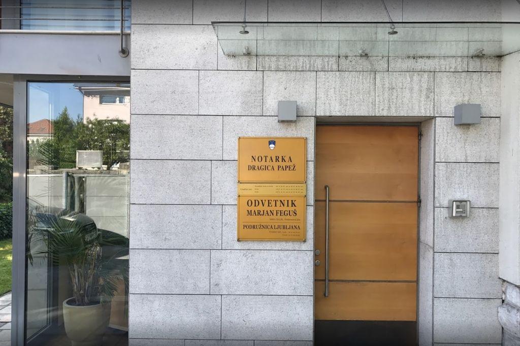 Notarska pisarna na Brezovici