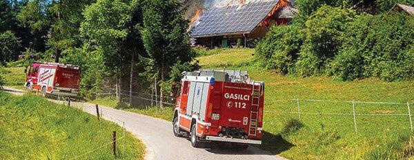 Novoletna prošnja slovenskih gasilcev