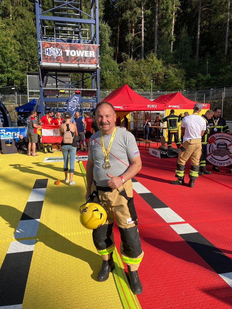 PGD Vnanje Gorice na tekmovanju Firefit v mestu Pfalzen na južnem Tirolskem