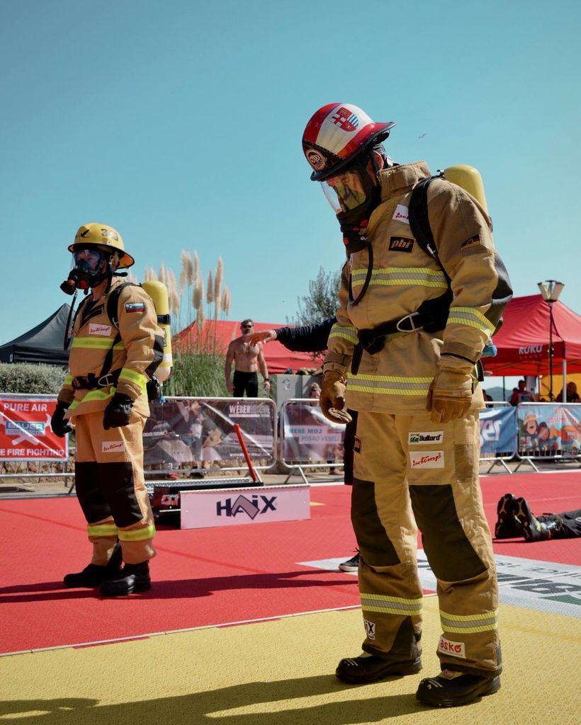 PGD Vnanje Gorice na tekmovanju Firefit Europe v mestu Tisno na Murterju