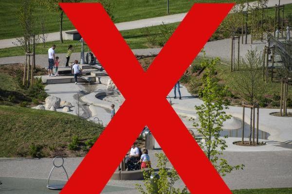 Prepoved zbiranja oseb na otroških in šolskih igriščih - DOPOLNJENO!