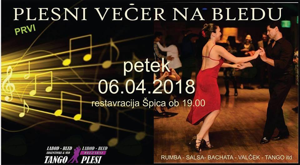Plesni večer v restavraciji Špica