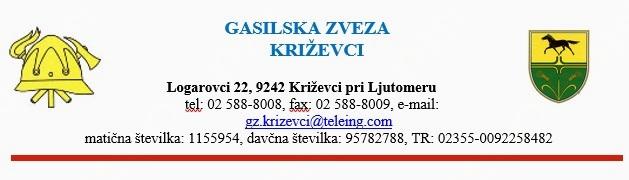 """5. KVIZ GASILSKE MLADINE GZ KRIŽEVCI """"2017"""""""