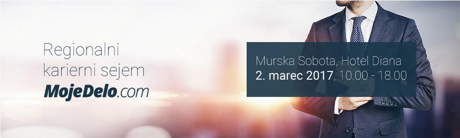 Regionalni karierni sejem MojeDelo.com 2017 – Murska Sobota