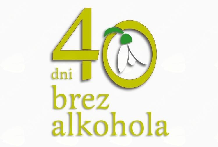 40 dni brez alkohola