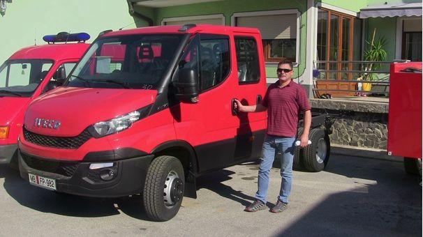 PGD Lukavci Prevzem gasilskega avtomobila GVV-1