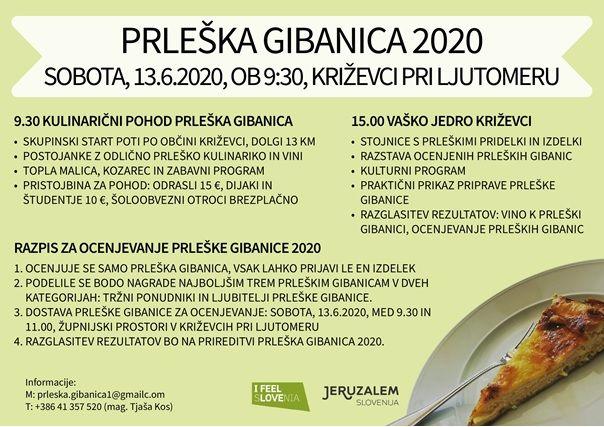 Prleška gibanica 2020